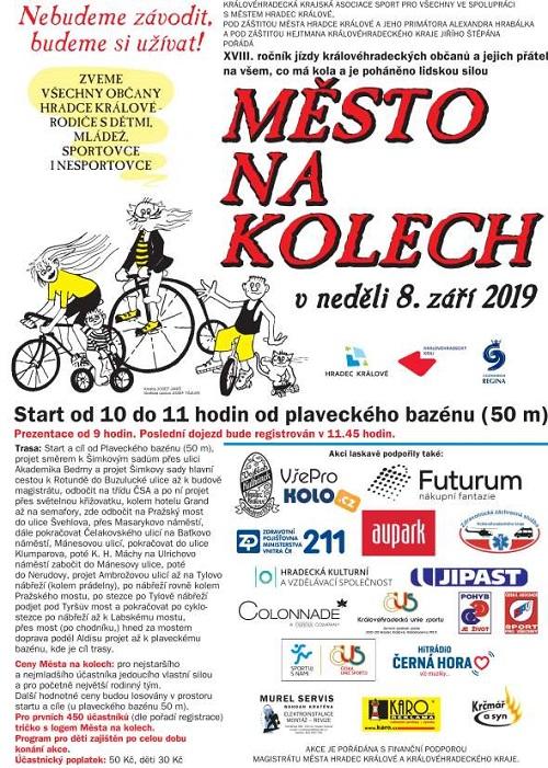 Město na kolech 2019