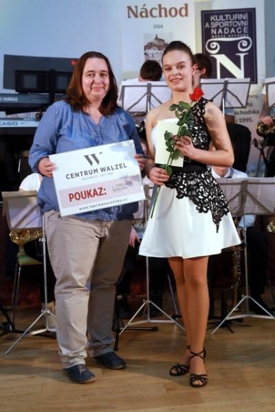 Aneta Vacková MONA Náchod - čtenářská anketa