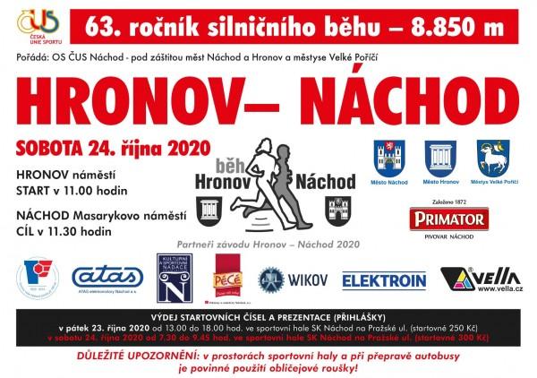 63. ročník HRONOV - NÁCHOD
